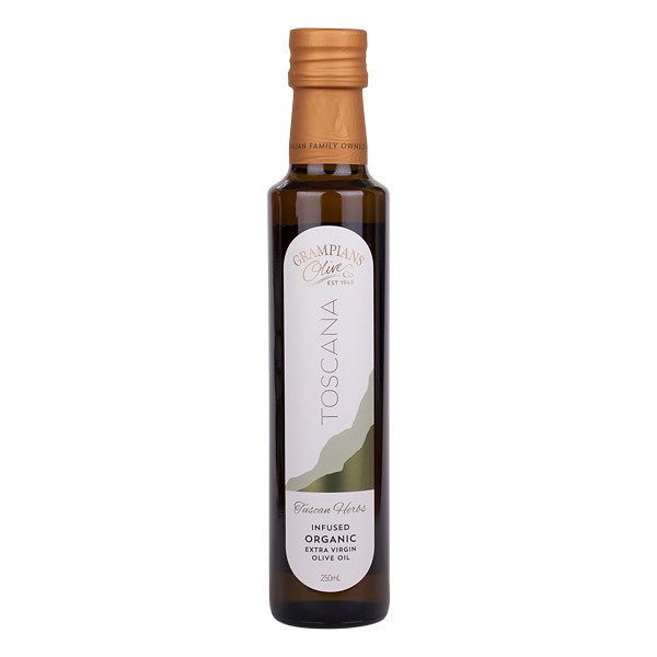 Tuscan Herbs Infused Organic Extra Virgin Olive Oil - Toscana Grampians Olive Co.