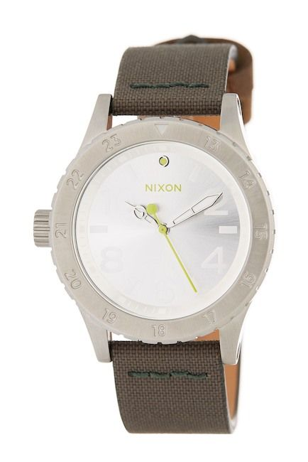 Image of Nixon Women's The 38-20 Leather Strap Watch