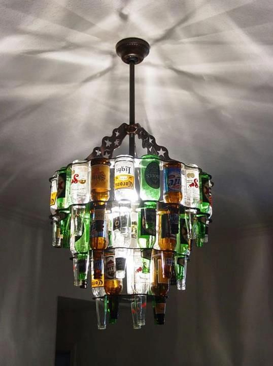Would be even cooler with liquor bottles!