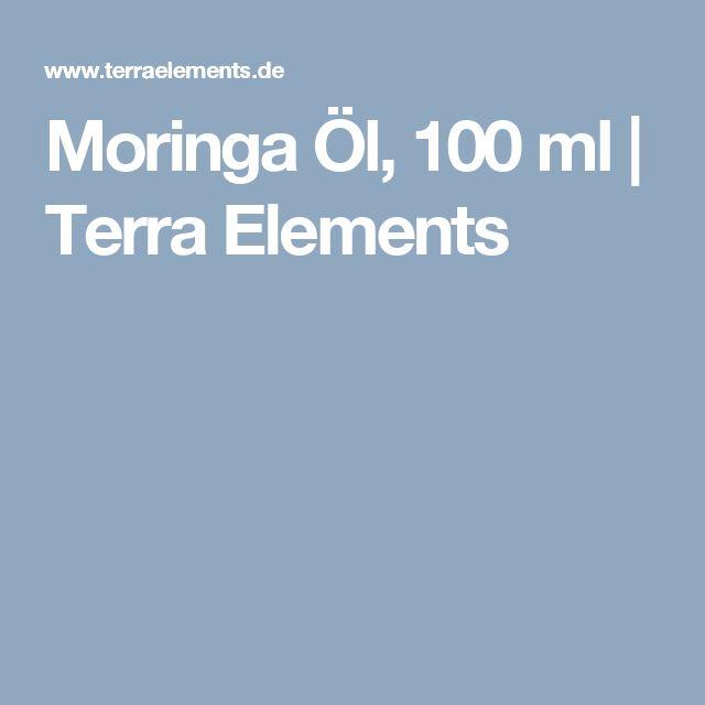 Moringa Öl, 100 ml   Terra Elements