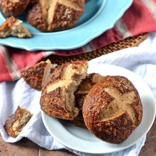 Whole Wheat Pretzel Bread