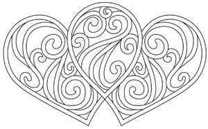 Share the love with this simple, sweet, enchanting design! Downloads as a PDF. Use pattern transfer paper to trace design for hand-stitching.
