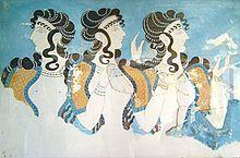 Fresque de Cnossos