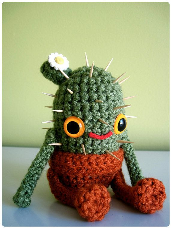 Baby Cactus Amigurumi : 1000+ images about Crochet Flowers on Pinterest