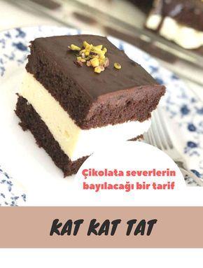 Kat Kat Tat #katkattat #çikolatalıtarifler #pastatarifleri #nefisyemektarifleri