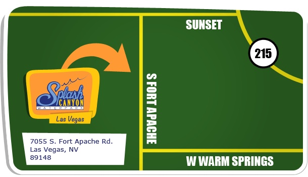 We will be located in Summerlin off the 215 & Durango at the corner of Warm Springs and Fort Apache.