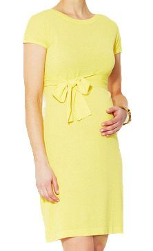 Motherhood Closet - Maternity Consignment - Yellow Sono Vaso Career Melita Maternity Sweater Dress (Gently Used - Size 0-2), $46.00 (http://www.motherhoodcloset.com/yellow-sono-vaso-career-melita-maternity-sweater-dress-gently-used-size-0-2/)
