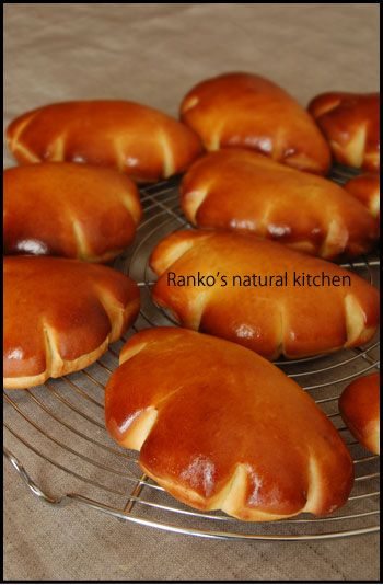 生イーストのクリームパン♪ :: Ranko's natural kitchen|yaplog!(ヤプログ!)byGMO