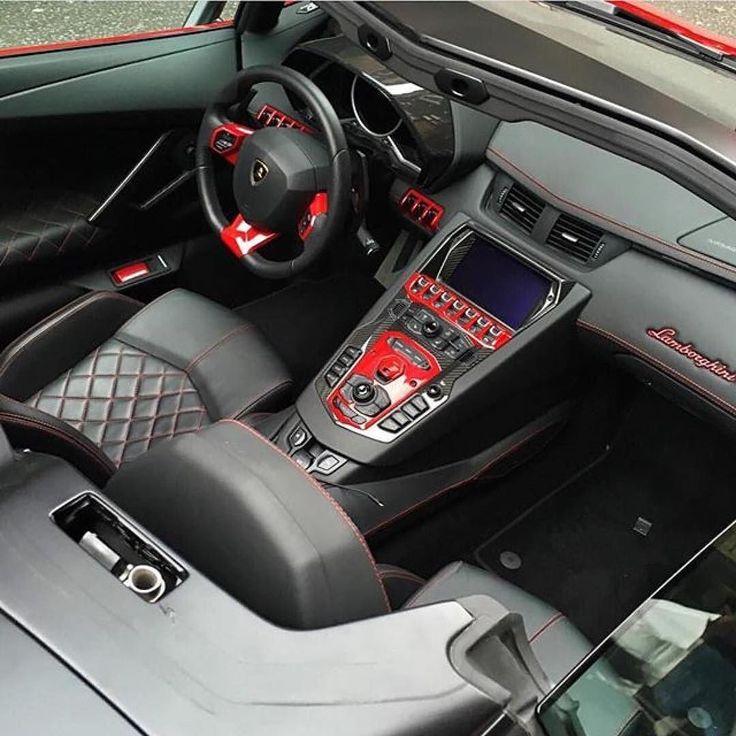2014 Lamborghini Aventador Interior