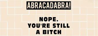Abracadabra  funny Facebook Cover photo