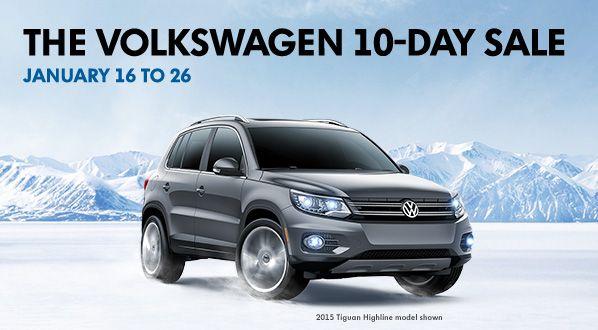 The Volkswagen 10-day sale
