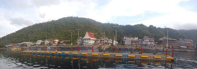 Dermaga Apung Kota Tahuna ~ Wisata Sangihe (Sangihe Tourism)