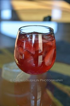 Wild Strawberry Moscato White Wine Sangria - Easy make ahead sangria with fresh strawberries, blackberries and cherries. Delicious! - recipe by Mixologist Cheri Loughlin of intoxicologist.net
