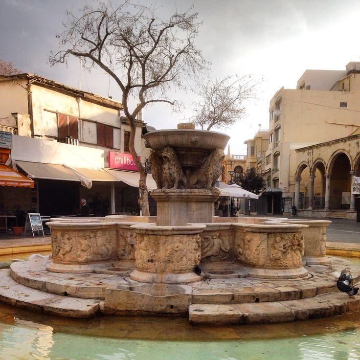 Lions square at Herakleion Crete (Creta) !