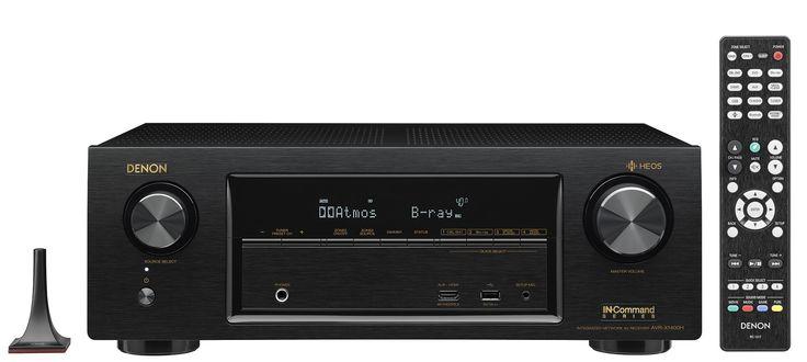 Denon AVR-X1400H Ultra HD Network AV Receiver w/ HEOS