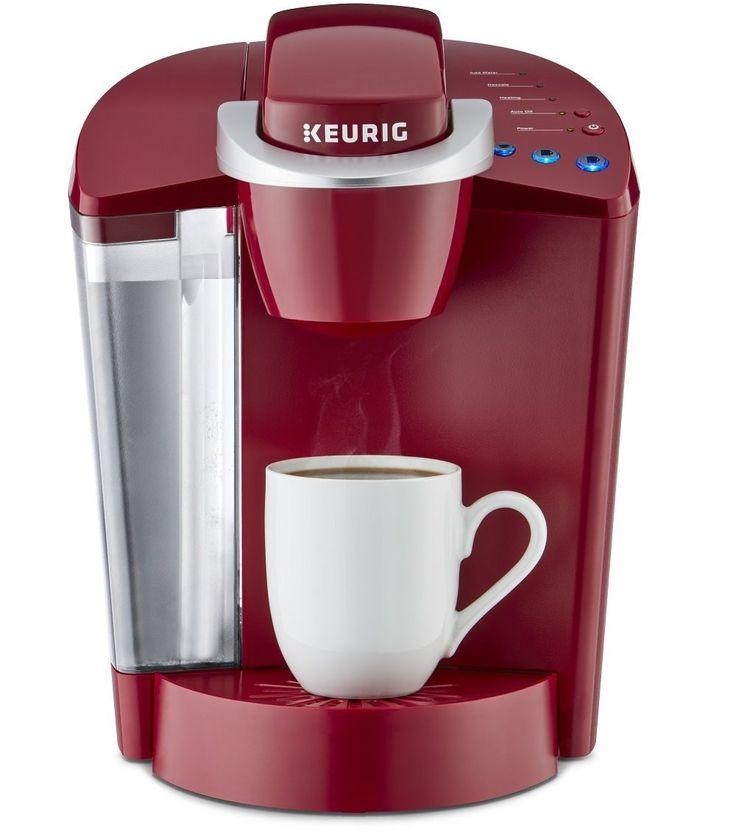 Keurig K55 Single Serve Programmable K Cup Pod Coffee Maker, Rhubarb