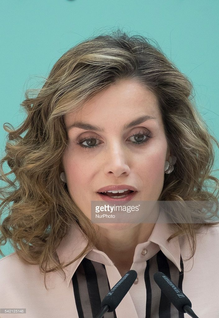 Spanish Queen Letizia during the conmemorative ceremony of the 30th anniversary of Aid against Drug Addiction Foundation (FAD) at the Real Casa de Correos in Madrid, Spain, on 22 June 2016.