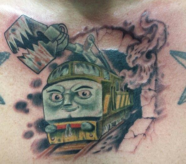 Diesel 10 Tattoo Thomas Train And Friends Demogiraffic