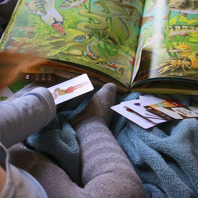 Heute ist Welttag des Kinderbuches!   Kinderbücher sind natürlich auch für uns schon ein wichtiges Thema. Wobei wir eher darauf achten dass es nicht zu viele verschiedene werden. Und dann auch nur bestimmte die uns tatsächlich gut gefallen.   Es macht schon richtig Spaß sich mit dem Matz hinzusetzen und gemeinsam ein Buch anzuschauen. Bevorzugt eines mit verschiedenen Tieren drin die er bereits kennt. Manchmal stellt er uns jedoch vor kleine Rätsel. So haben wir zum Beispiel ewig gebraucht…