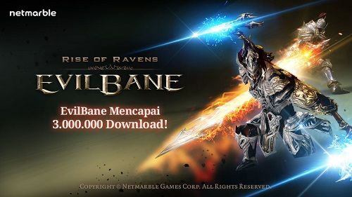 Luar Biasa! Game mobile terbaru dari Netmarble ini raih  3 juta download hanya dalam kurun waktu dua minggu perilisannya!