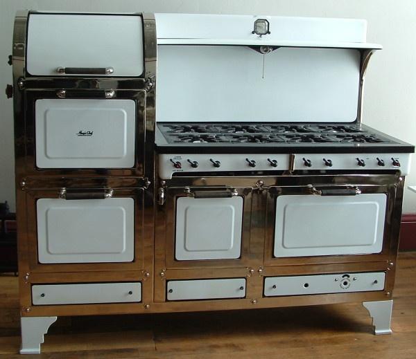 Amazing Magic Chef stove restoration from Antique Stoves I
