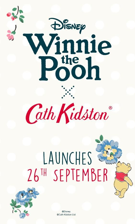 We're kicking off our Disney x Cath Kidston collaboration with Winnie-the-Pooh! Be the first to find out more and join our priority email club