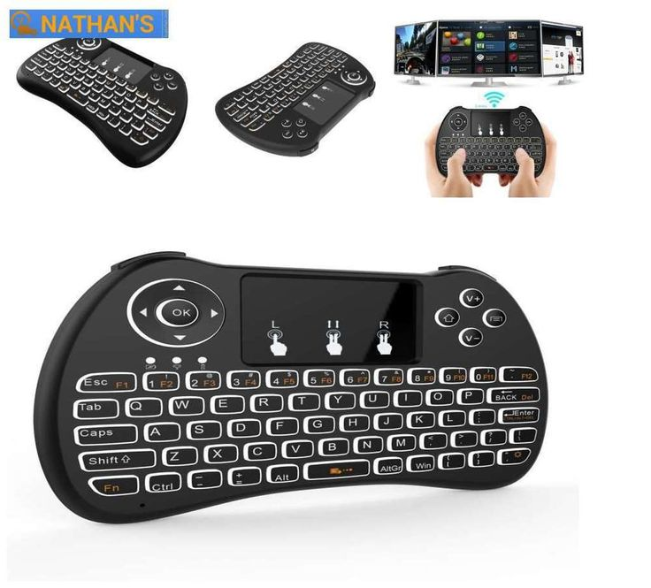 NEW Wireless 2.4g Keyboard And Touchpad Mouse Combo For Smart Tv Free Shipping  #Tripsky