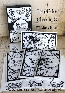 Stampin' in the Sand: Petal Palette Class To Go