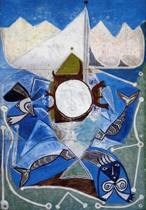 Ulysse et les sirènes Picasso