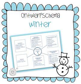 Kleuterjuf in een kleuterklas: Ontwerpschema | Thema WINTER