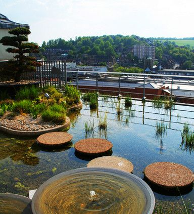 Jellicoe Roof Garden | Guildford | England