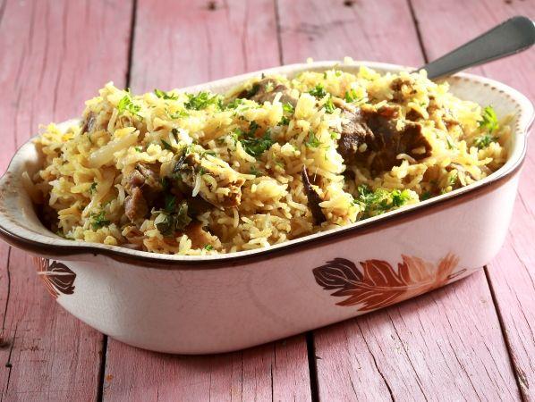 Flavourful Biryani
