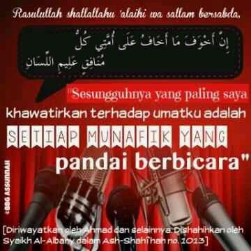 BBG As-Sunnah : Bahaya Musuh Pandai Bersilat Lidah