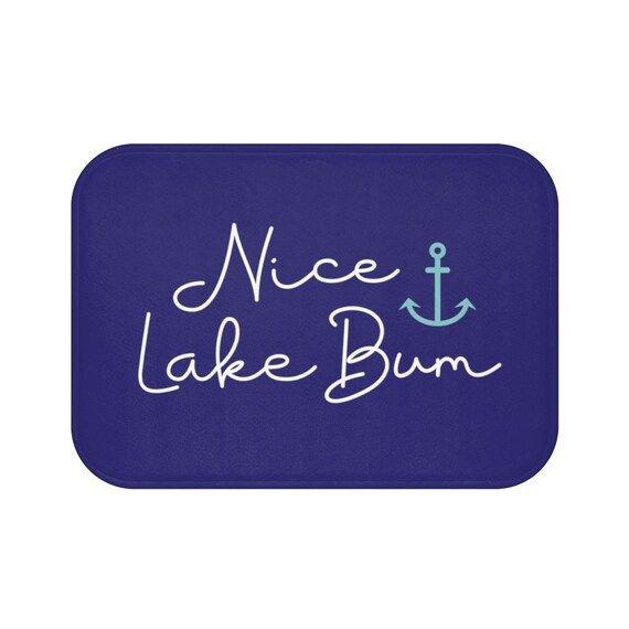 Pin On S, Lake Life Bathroom Decor
