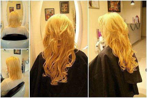 Przedłużanie i zagęszczanie włosów metodą Micro Rings. #hair #włosy #MicroRings