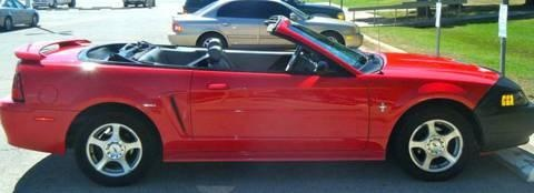 2003 Mustang convertable and it's red!