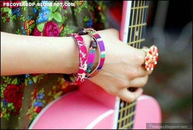 Girl Hands With Bangles Fb Dp Mix Colour Hand Bands