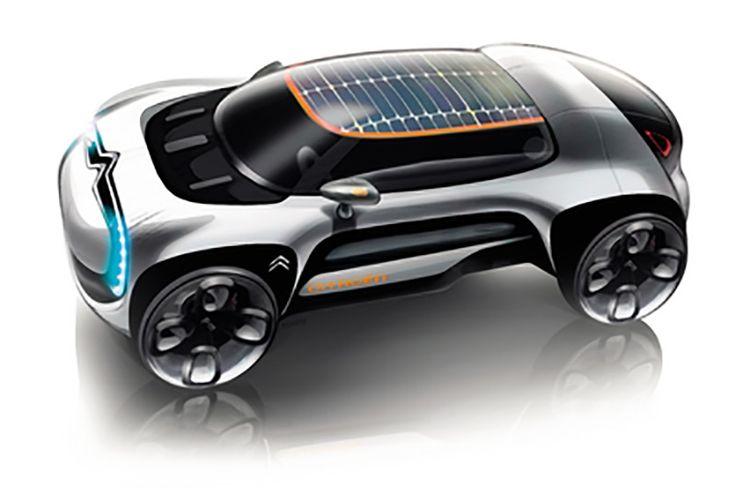 Gashetka | Transportation Design | 2009-2010 | Citroen C4 Cactus (E3...