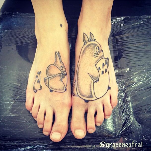 Too bad I already have a tat on my foot... would have to alter this, but love it nonetheless!
