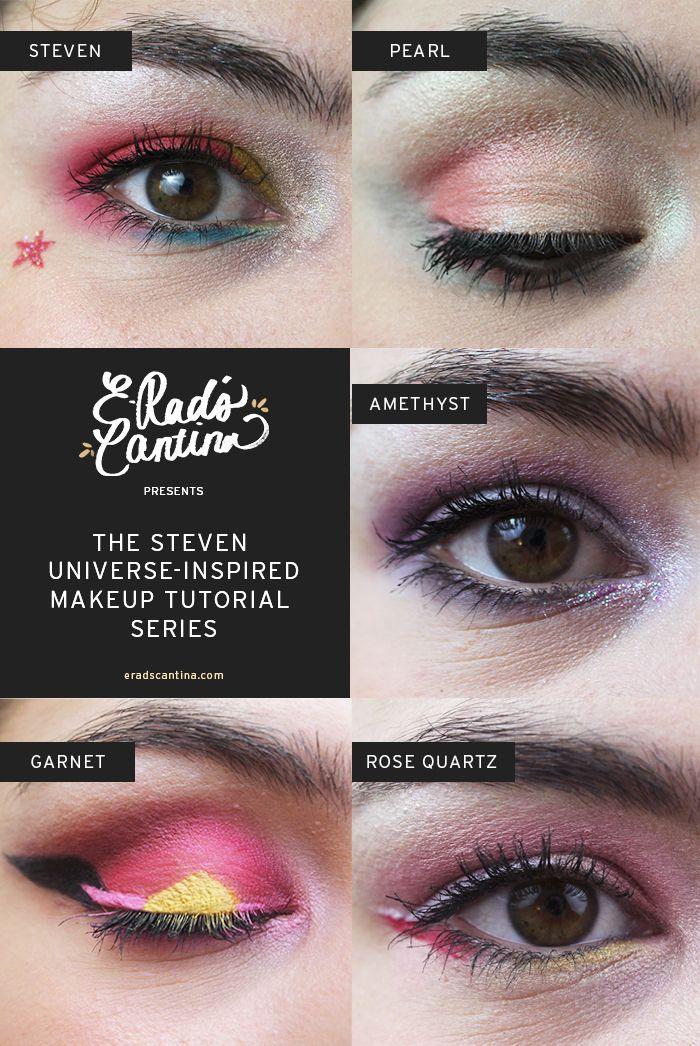 Rose Makeup Brushes: E-Rad's Cantina's Steven Universe-inspired Makeup Series