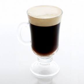 I DON'T DRINK HARDLY AT ALL...BUT I DO LOVE ANYTHING WITH COFFEE...AND I ALWAYS GET MY IRISH COFFEE