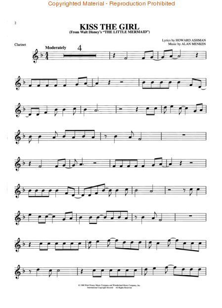 Students will love playing these 16 songs from the Disney favorites Aladdin, Beauty and the Beast and The Little Mermaid. Description from sheetmusicplus.com. I searched for this on bing.com/images