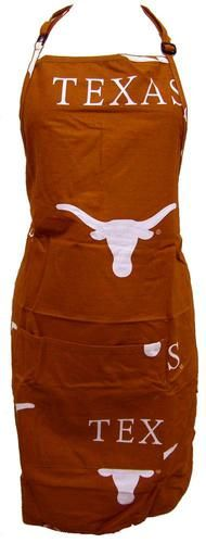 University of Texas Longhorns Barbecue BBQ Tailgate Apron
