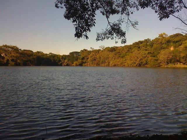 Imagen de la Laguna de Cuscachapa en Chalchuapa, Santa Ana.