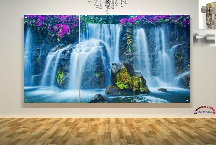 Wall Art Decor Floating Acrylic Glass Plexiglass Modern Art  Abstract #Handmade #Modern
