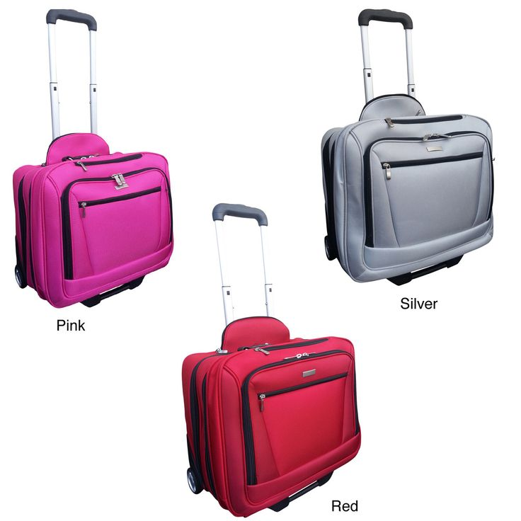 Checkpoint Friendly 14.5-inch Rolling Carry-on Laptop Case | Overstock.com Shopping - The Best Deals on Rolling Laptop Cases