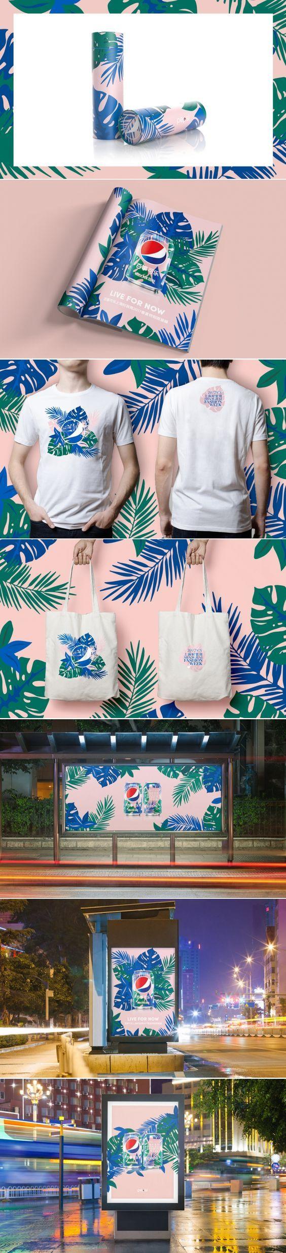 Pepsi X Shanghai Fashion Week Branding by Pepsi | Fivestar Branding Agency – Design and Branding Agency & Curated Inspiration Gallery