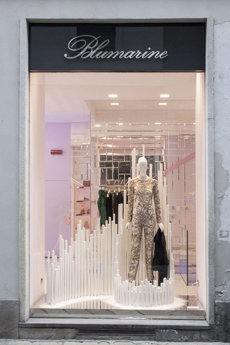Blumarine Milan Boutique Windows • Fall Winter - December 2015