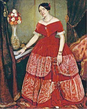 Manuela Rosas Y Ezcurra de Prilidiano Pueyrredón
