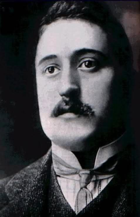 """Guillaume Apollinaire: """"Alcools"""" (1913) - French poet, playwright, short story writer, novelist, and art critic of Polish descent."""